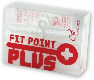 Cosmo Darts - Fit Point Plus - 50er Pack ( Weiß )