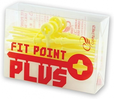 Cosmo Darts - Fit Point Plus - 50er Pack ( Gelb )